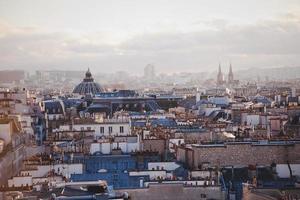 vue panoramique de paris photo