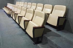chaise de salle de réunion photo