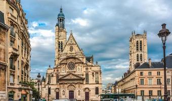 sainte-genevieve, paris, france photo