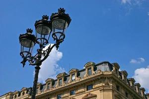 lanterne de rue paris - 1 photo