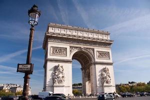 paris - arc de triomphe photo