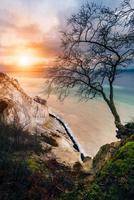 les falaises de mons klint, danemark