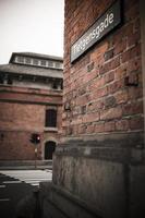 copenhague, nyhavn et bâtiments de la vieille ville photo