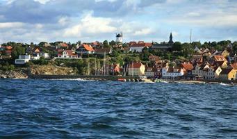 panorama de Gudhjem photo