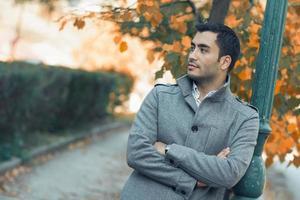 portrait d'automne photo