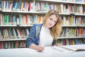 portrait d'étudiant photo