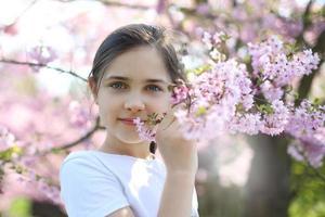 portrait de printemps photo