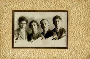 portrait vintage photo