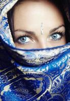 portrait de sari photo