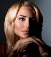 portrait de la belle femme photo