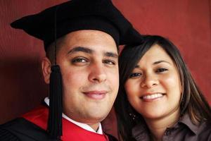portrait de jour de remise des diplômes photo