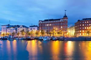 Jetée de la vieille ville à Helsinki, Finlande