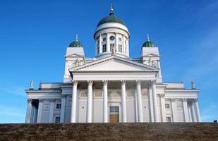 la cathédrale d'Helsinki photo