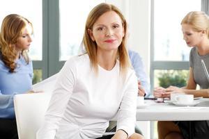 portrait de femme d'affaires photo