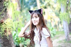 belle fille asiatique photo