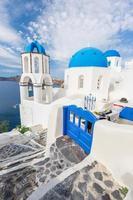 Santorin, grecce photo
