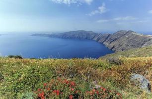 île de Santorin, nord, Grèce photo