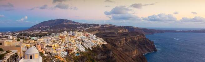 Thira, Santorin, Grèce. photo