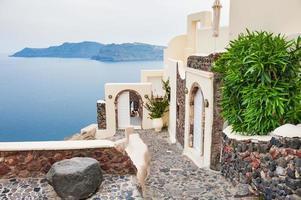 île de Santorin, Grèce. photo
