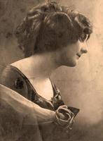 portrait vintage. photo