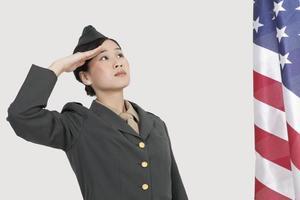 portrait de soldat photo