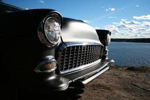 portrait de voiture photo