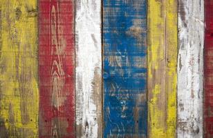 clôture de couleur photo