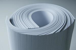 gros plan du papier