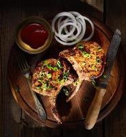 bifteck de porc