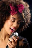 portrait de musicien de jazz photo