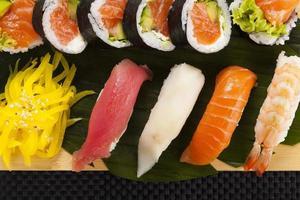 la composition de nigiri sushi