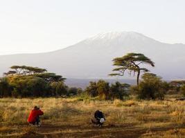 photo du kilimandjaro