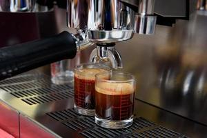 processus de préparation du café