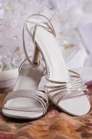 chaussures argent photo