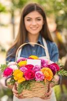 fleuriste photo
