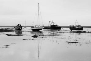 marée montante photo