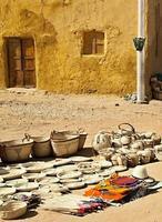Oasis de Dakhla, boutique dans la rue photo
