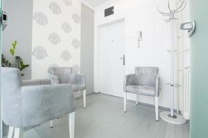 petite salle d'attente élégante photo