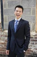 homme d'affaires asiatique photo