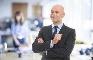 portrait d'homme d'affaires photo
