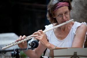 flûte latérale photo
