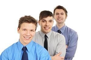 jeunes gens d'affaires photo