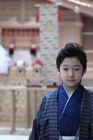 garçon japonais photo