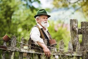 vieux fermier photo