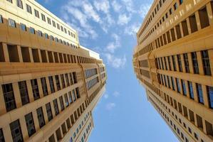 bureaux de gratte-ciel - architecture de bureau photo