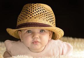 cowboy bébé heureux photo