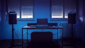 studio d'enregistrement à domicile simple photo
