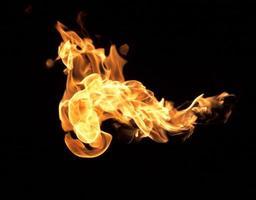 les flammes rouges photo