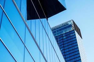 immeubles de bureaux d'architecture moderne photo