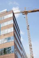 construction de bâtiments modernes photo
